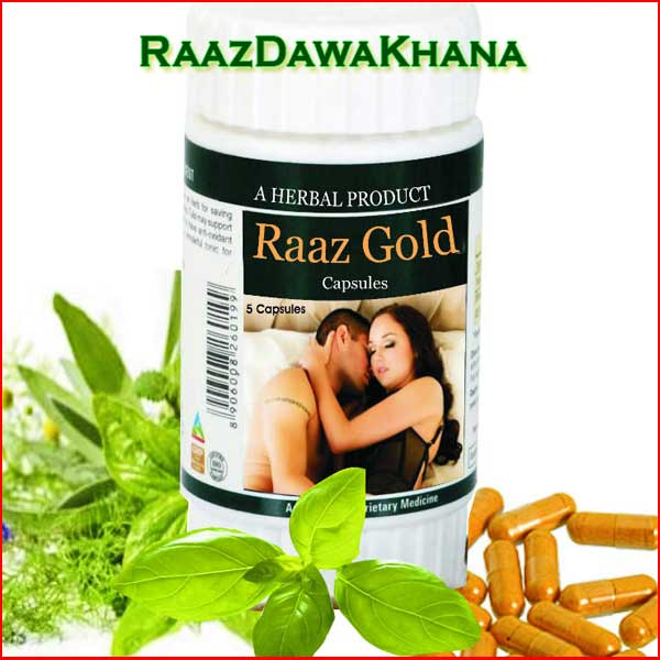Raaz Gold Capsule FREE trial pack!